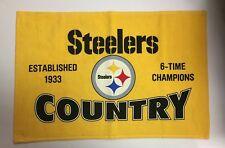 Myron Cope's Pittsburgh Steelers Country Terrible Towel *BRAND NEW* Rare