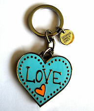 NEU George Gina Lucy Schlüsselring Keyrings *KEY2heart* pool blue LETZTER !!!