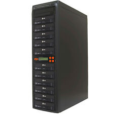 11 Burner Blu Ray CD DVD 16X Duplicator Copier M-Disc Copy Multi Duplication BD