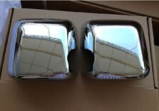 Chrome side mirror cover Trims for Jeep Wrangler JK 2007-2017