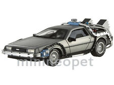 HOT WHEELS ELITE X5493 BACK TO THE FUTURE TIME MACHINES DMC DELOREAN 1/43 SILVER