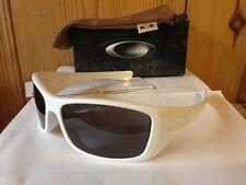 NEW Oakley - Hijinx - Sunglasses, Polished White w/ Grey Lens, 24-059