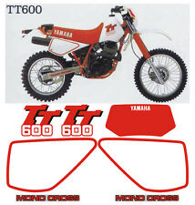 Yamaha TT600 Cristal dal 1983 al 1992  Bianco/Rosso