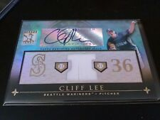Cliff Lee 2010 Topps Tribute Blue Relic Auto /75 Mariners
