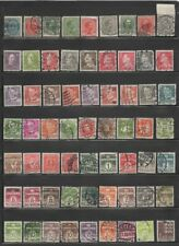 Denmark Early Stamp Collection - 100 All Different Singles (Lot Denmark 4)