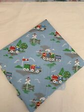 TRAINS Cath Kidston Fabric Reusable Sandwich Wrap Place Bag Mat Eco Friendly
