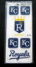 Kansas City ROYALS Major League Baseball Stiks Stickers Sheet B-21