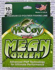 McCoy Fishing Line CoPolymer Mean Green 250 Yard Spool 10Lb Test