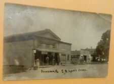 Old Beverdam Mill Village PA. S.R. Lyon's Store Cigars +RPPC Real Photo Postcard