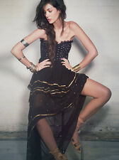 140432 New Free People Limited Edition Moonlight Dancer Embellished Tube Dress S