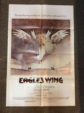 """""""Eagle's Wing"""" ORIGINAL 41"""" x 27""""  MOVIE POSTER Martin Sheen Western 1979 GOOD"""