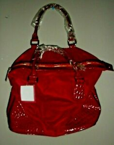 """Bath And Body Works Red Tote Bag 13"""" x 13.5"""" x 7"""""""