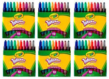 Crayola 9715 Twistables Crayons 10 Pack Colors SET OF SIX!