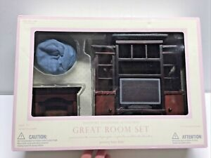 NEW IN BOX: POTTERY BARN KIDS Westport Dollhouse Accessories GREAT ROOM SET
