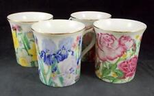 Lenox FLOWER BLOSSOM COLLECTION  Mugs no signs of use GREAT CONDITION
