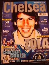 Chelsea Football Club FC Mag Magazine Dec 1998 Zola