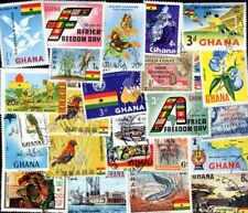 Ghana 200 timbres différents oblitérés