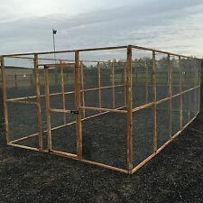 17 X Aviary Panel 6 X 3 1 X Door Run 19g Wire Chicken Rabbits Puppy Dogs Bird