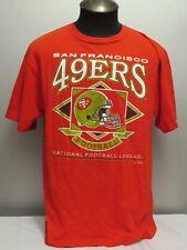 San Francisco 49ers Shirt (VTG) - Helmet Graphic - Men's Large