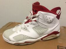 "NIKE AIR JORDAN 6 RETRO VI ""ALTERNATE HARE"" Red/White 384664-113 Sz 13"