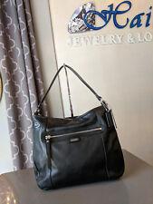 Coach Daisy Leather Convertible Duffel Hobo Bag 23937 Black