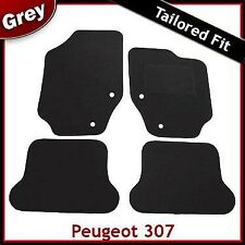 Peugeot 307 CC Coupe Cabriolet 2003 - 2007 2008 Tailored Carpet Car Mats GREY