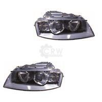 Xenon Scheinwerfer Set für Audi A3 (8P1) Bj. 05.03- D2S/H7 mit Motor