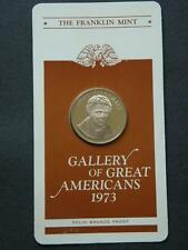 JOHN MARSHALL FRANKLIN MINT GALLERY OF GREAT AMERICAN PROOF MEDAL - 1973