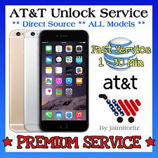 Factory Unlock✅PREMIUM VIP Service✅Code Att AT&T iPhone 4 4S 5 5C 5S 6+ 7 CLEAN