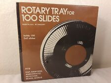Rotary Tray For 100 Slides, Factory Sealed for GAF, Sawyer, Keystone, Sears etc.
