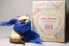 Calico Kittens: Love Wraps Us In Warmth - 865842 - Cat Wrapped in Knitted Scarf