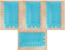 Genuine AMEDA blue ice packs set of 4