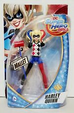 "DC Comics Super Hero Girls Harley Quinn 6"" Action Figure Doll w/ Mallet"
