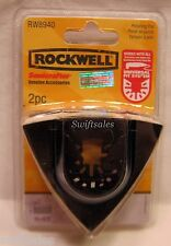 Rockwell RW8940 Sonicrafter Felt Polishing Pad - Universal Fit System - 2x Pack