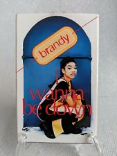 BRANDY I Wanna Be Down cassette single - tested, great copy!