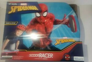 MARVEL Spiderman Scoot Racer Caster Scooter Board Ride-On Roller Casters