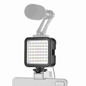 Neewer Ultra Bright Mini LED Video Light - 49 Dimmable High Power LED Panel Vide