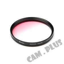 67mm Diameter Optical Gradual Pink Lens Filter For Leica Panasonic Samsung Fuji