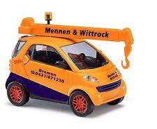 BUSCH 46167 Smart City Coupe mit Kran H0 #NEU OVP#