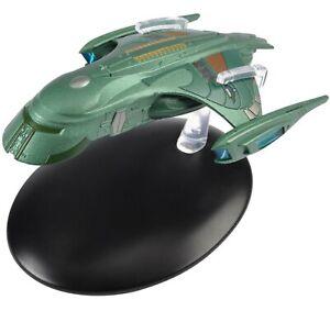Eaglemoss Star Trek Die Cast Ship Romulan Shuttle Starship 9164 No Magazine