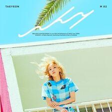 GIRLS GENERATION TAEYEON [WHY] 2nd Mini Album CD+88p Photobook+Card K-POP SEALED