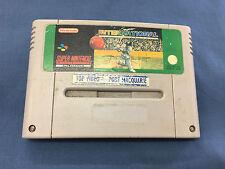 Super International Cricket Super Nintendo Entertainment System Cartridge Only