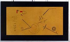 Loin de l'Hyperespace - acrylique et crayon sur bois - Abstrait