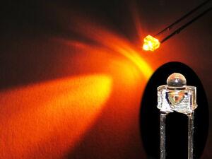 10 Stück LED 1,8mm orange superhell Mini Miniatur Leuchtdioden