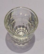 Vintage Crystal Clear Shot Glass