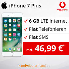 ❤️ Apple iPhone 7 Plus | 6 GB LTE max. 500 MBit/s | Vodafone Vertrag + Handy ❤️