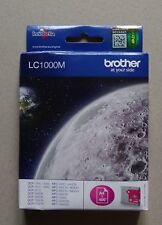 #) cartouche d'encre ink cartridge BROTHER LC1000M MAGENTA