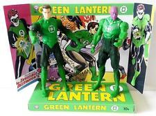 GREEN LANTERN & ABIN SUR Comic Book Superhero ACTION FIGURE on Custom Display