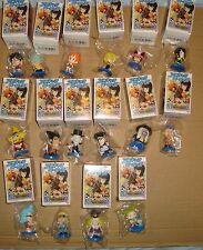 ONE PIECE MINI BIG HEAD FIGURE VOL.4 SET 16 PZ. PLEX 2010