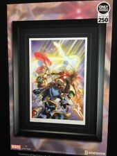 Guardians Of The Galaxy Alex Ross Limited Edition Framed Lithograph Print #/250